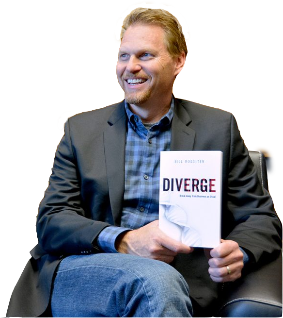 Bill Rossiter CEO Interrupt author Diverge graduate of Notre Dame University